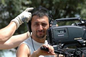 Il regista Ivan Zuccon