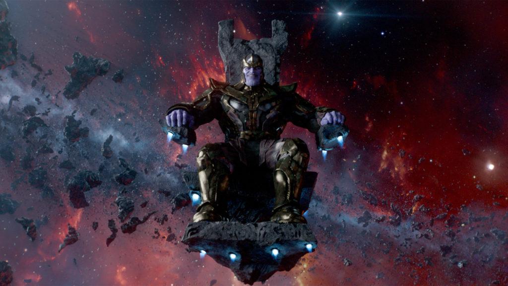 Thanos, il villain del film