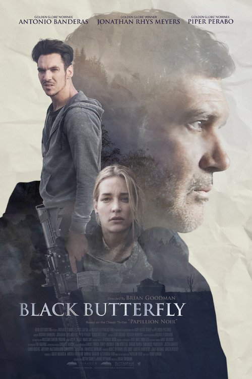 """Poster for the movie """"Black Butterfly"""""""