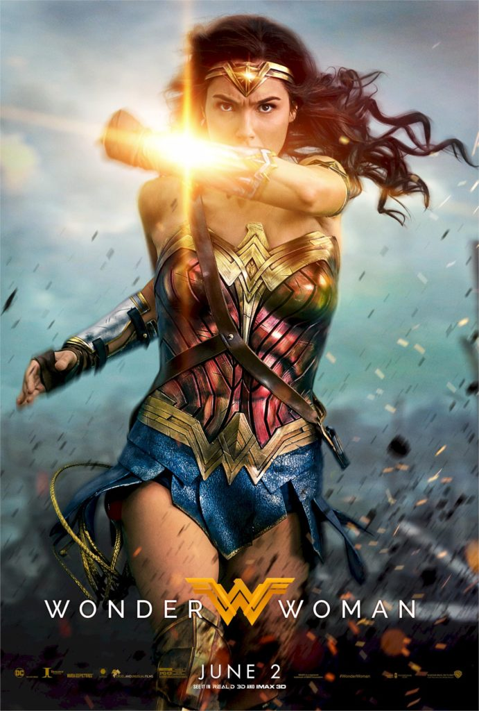 Final poster di Wonder Woman