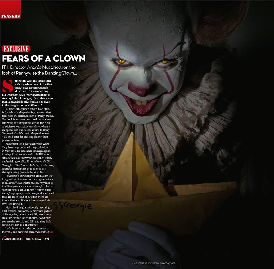 Dalla rivista Total Film