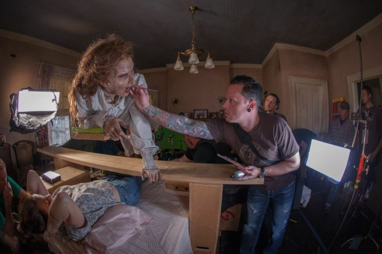 the conjuring behind the scenes makeup effects