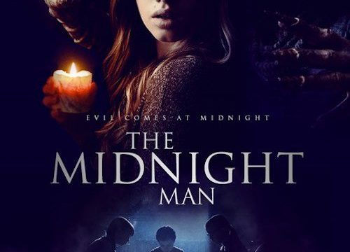 "Poster for the movie ""The Midnight Man"""