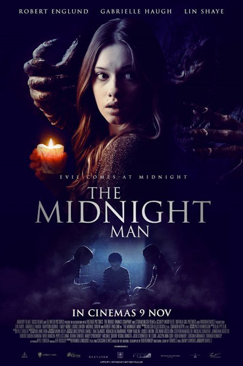 """Poster for the movie """"The Midnight Man"""""""