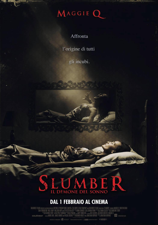 Slumber - Il demone del sonno - locandina