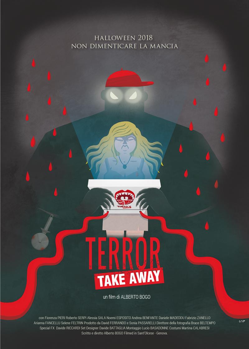 Terror take away poster