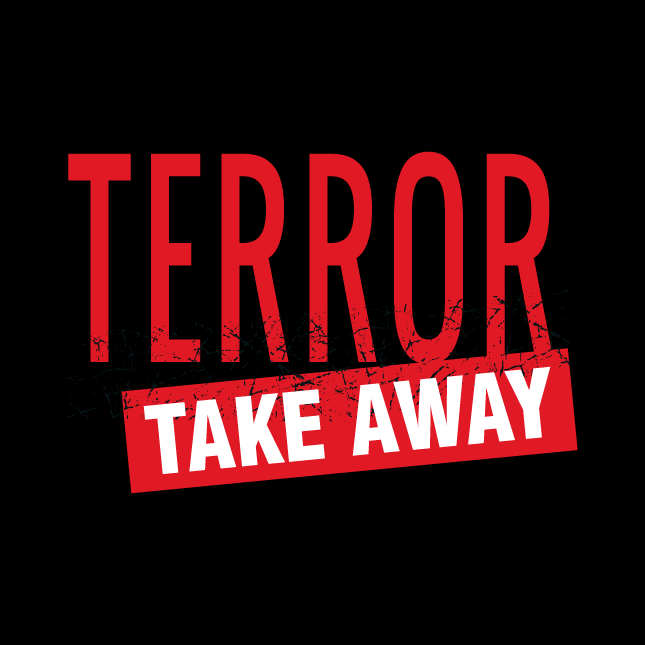 Terror take away logo
