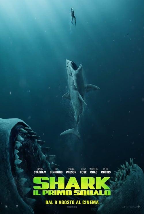 "Poster for the movie ""Shark – Il primo Squalo"""